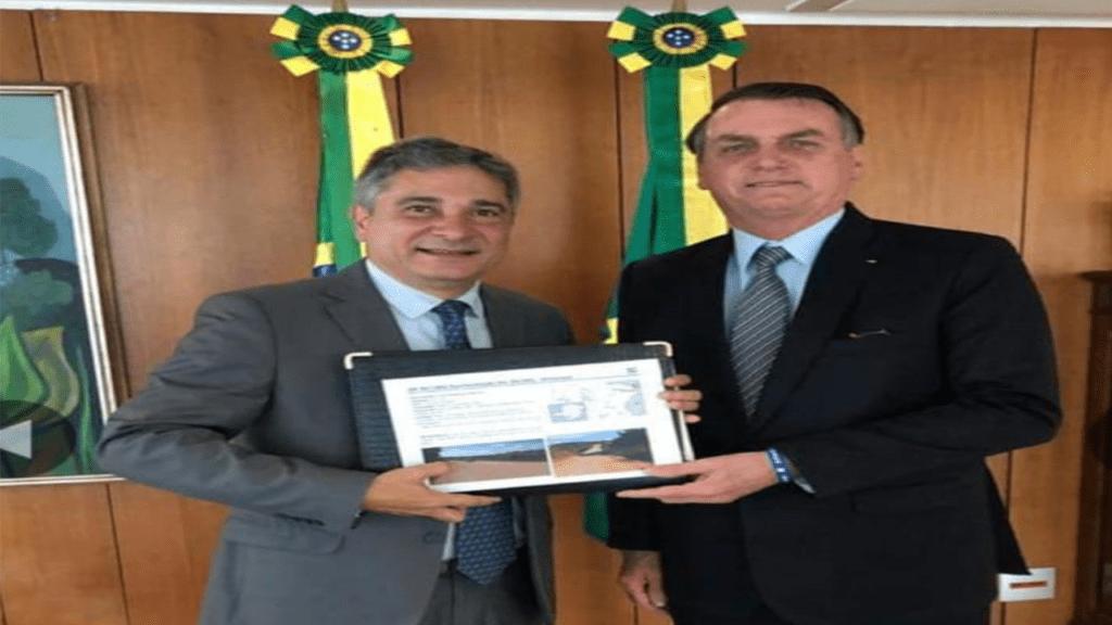 Deputado Coronel Sandro se reúne com Presidente Jair Bolsonaro