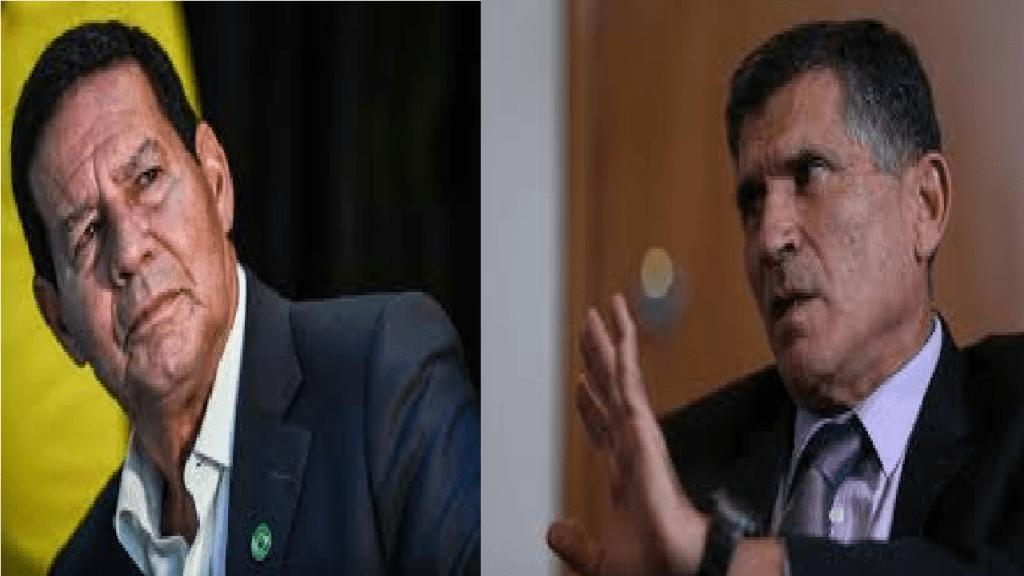 Mourão: 'Só soube agora, pela imprensa da saída de Santos Cruz'