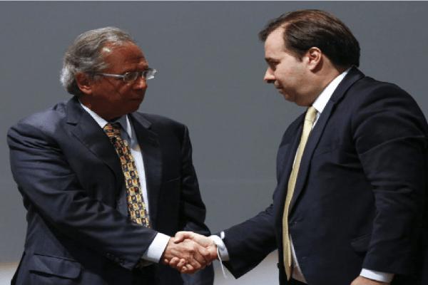 Rodrigo Maia e Guedes unidos para articular reforma da Previdência