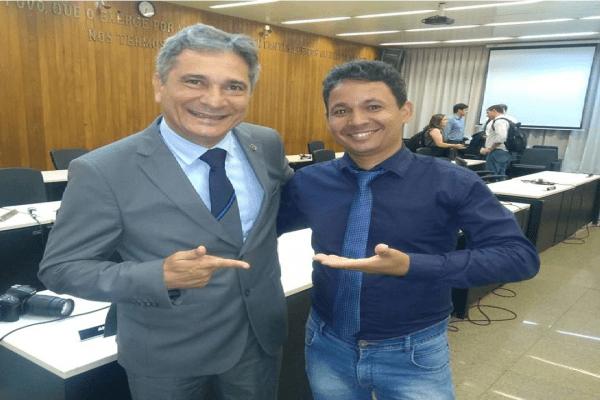 Deputado Coronel Sandro garante que vai lutar pelos direitos da população de Periquito