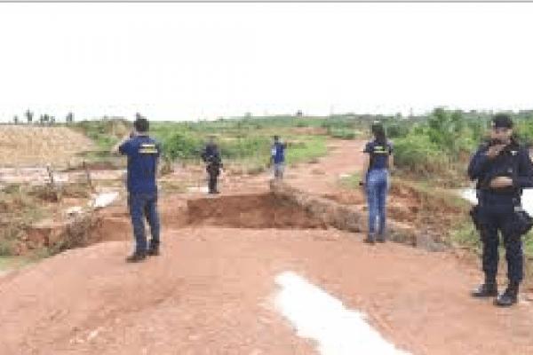 MP abre inquérito para apurar rompimento da barragem de Rondônia