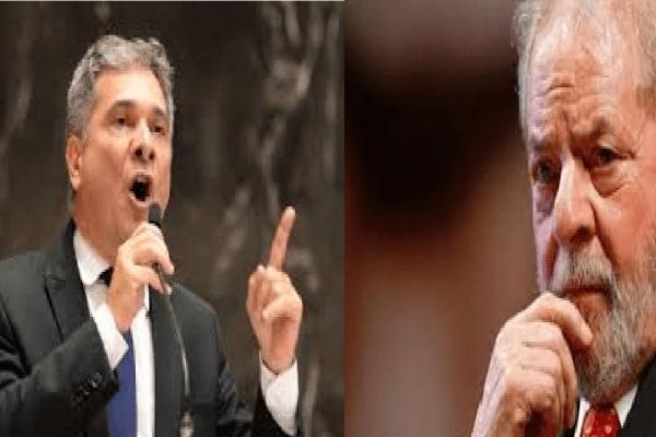 Deputado do PSL diz sentir vergonha de dizer que Lula já foi Presidente do Brasil