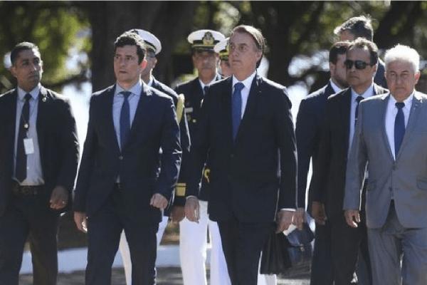 'O povo vai dizer se estamos certos ou não' diz Bolsonaro sobre Sérgio Moro