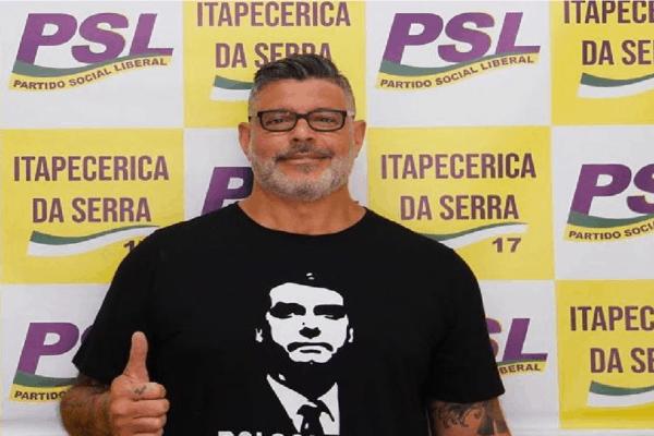Expulso do PSL Frota se filia ao PSDB