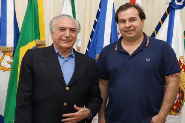 """Rodrigo Maia: """"Se eu quisesse ser presidente, teria sido no lugar de Michel"""""""