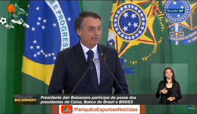 Presidente Bolsonaro fala de Gratidão em publicação no Twitter