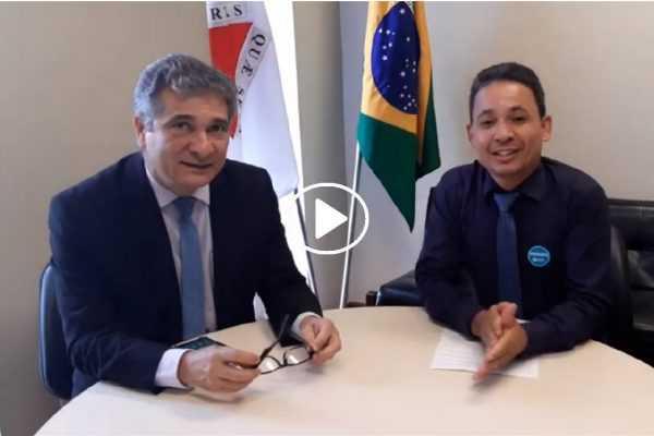 Jornalista Welesson Oliveira entrevista Deputado Coronel Sandro (PSL)