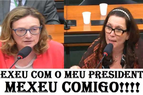Maria do Rosário faz graves acusações contra o presidente Bolsonaro e Bia Kicis não perdoa