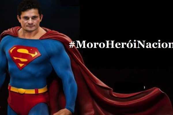 Moro é chamado de Herói Nacional na Web
