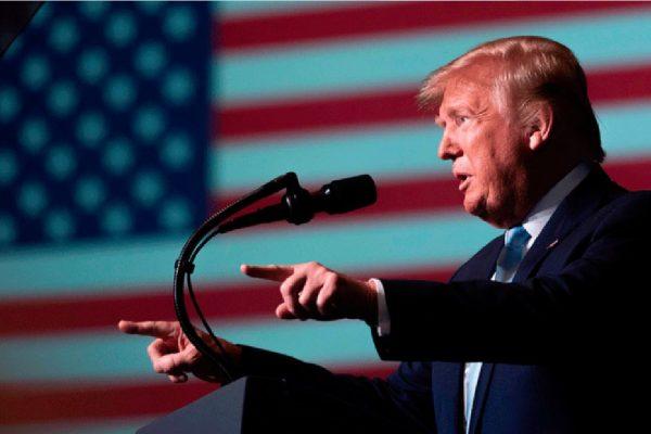 Presidente Americano relata ataque de Soleimani à doadores republicanos nos Estados Unidos