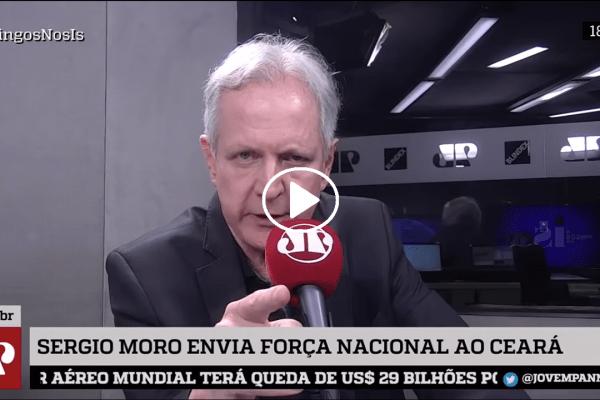 """Augusto Nunes sobre Cid Gomes: """"Black Bloc de Sobral"""""""