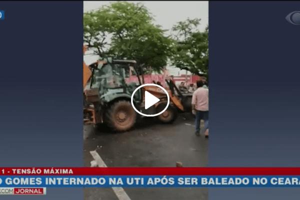 Cid Gomes continua internado após ser baleado no Ceará