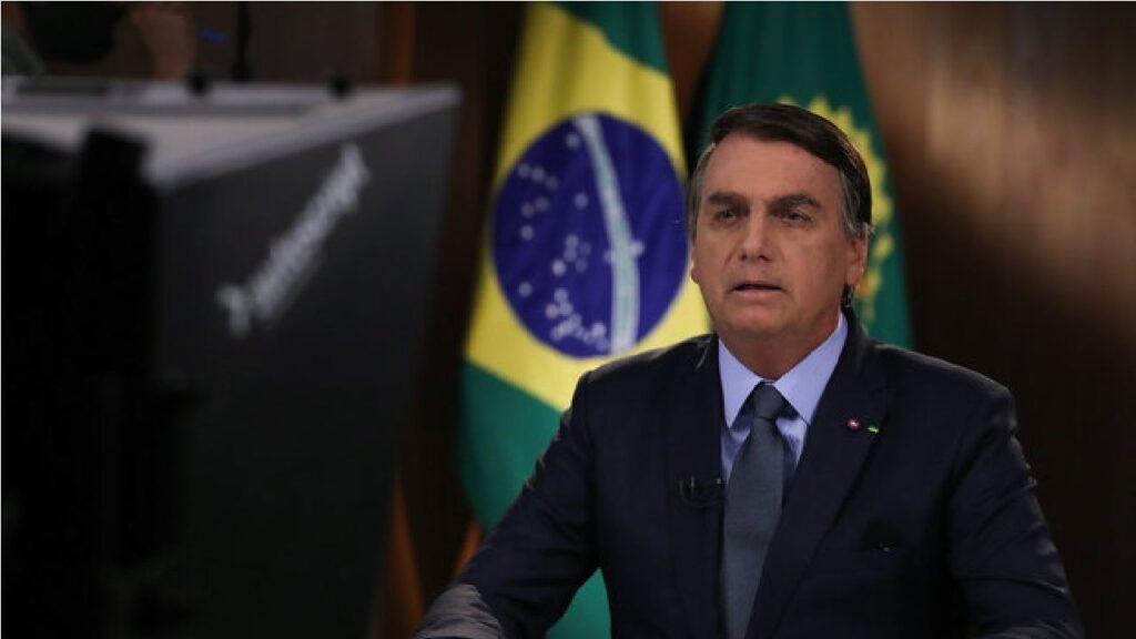 "Bolsonaro diz que trata crime ambiental com ""tolerância zero"""