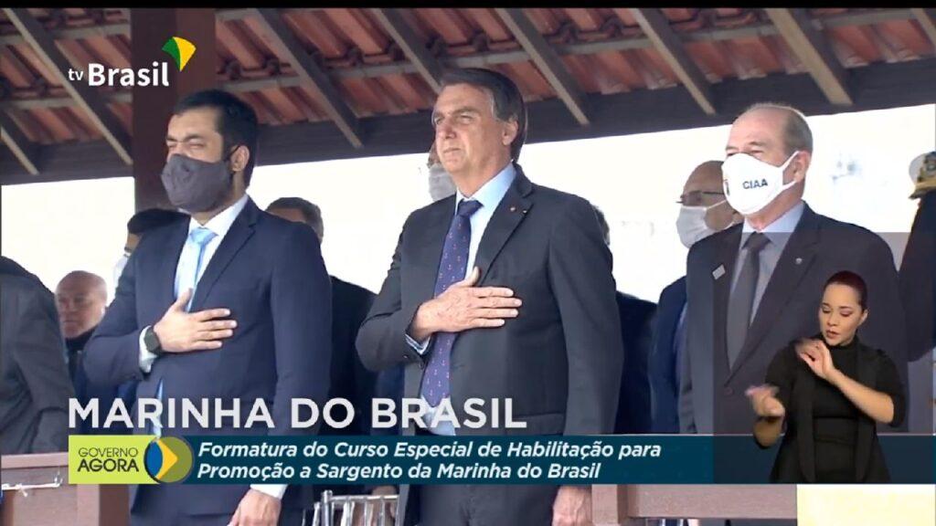 Bolsonaro participa da Cerimônia de Formatura do Curso Especial de Habilitação para Promoção a Sargento