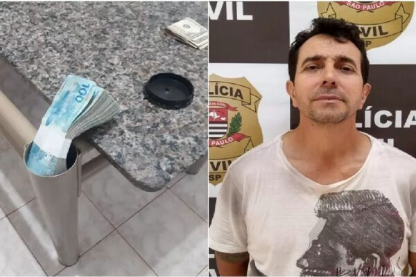 Criminoso mais procurado do país é preso no interior de SP