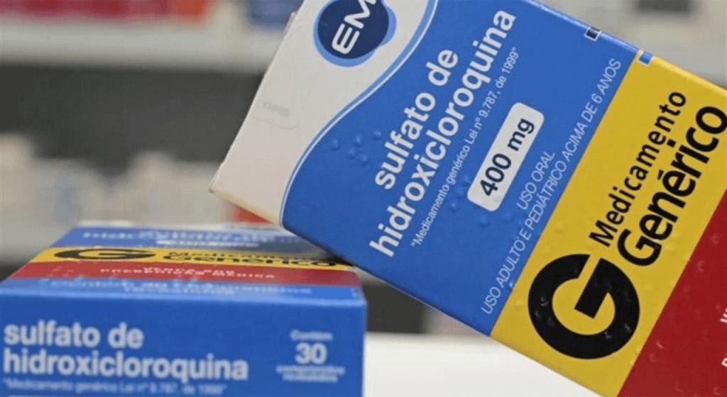 Estudo diz que Hidroxicloroquina reduz risco de morte em 30%