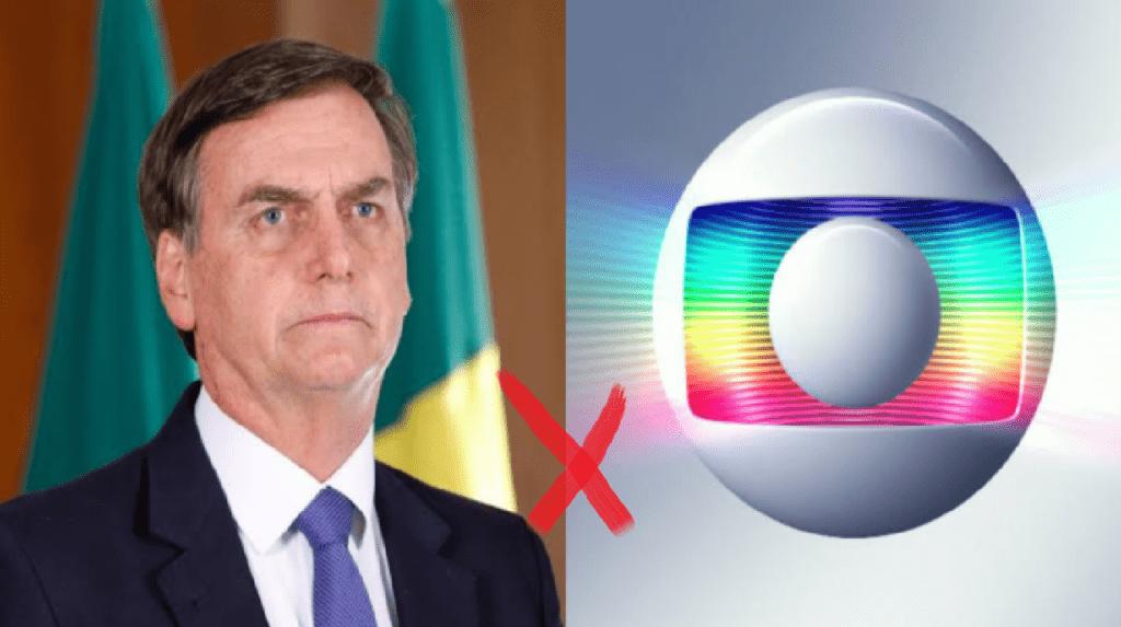 """Presidente sobe o tom e retruca Rede Globo: """"Mente porque perdeu bilhões em verbas publicitárias"""""""
