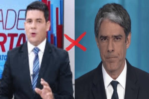 Jornalista da Record rebate críticas da Globo contra Bolsonaro e nega que seguranças expulsaram profissionais da emissora