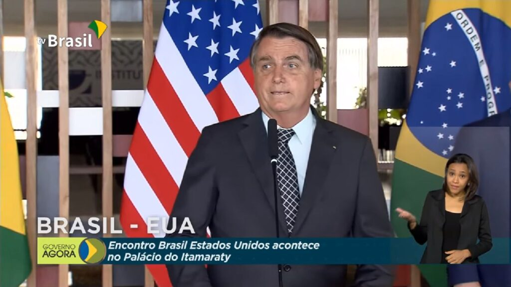 """Espero comparecer a posse do Presidente Trump"" diz Bolsonaro"