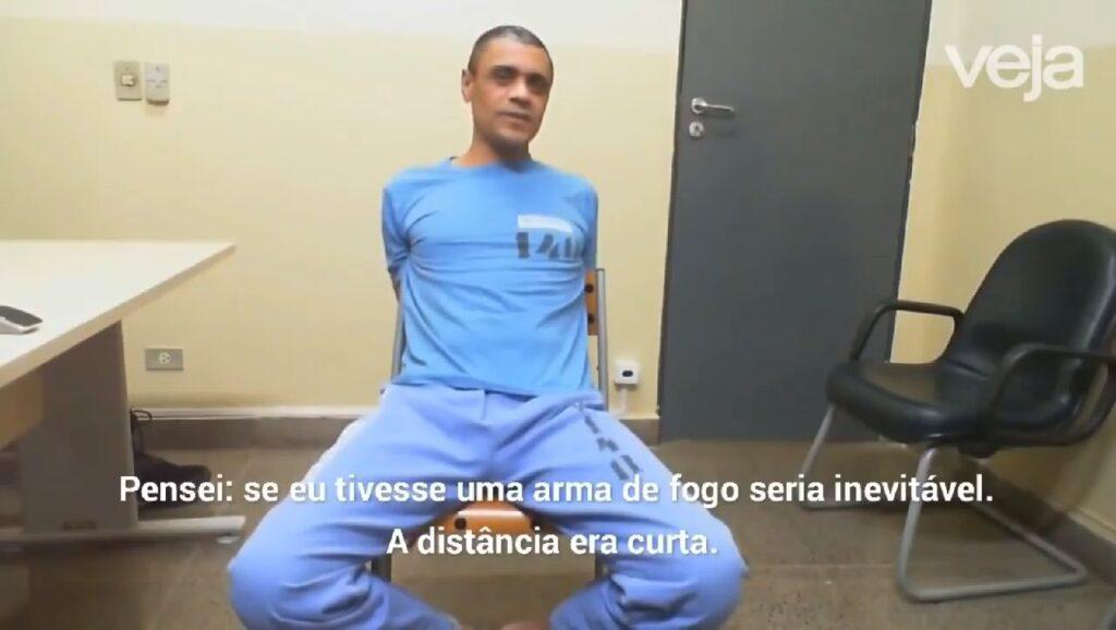 Adélio Bispo revela em depoimento que teve motivações políticas e religiosas para matar Bolsonaro