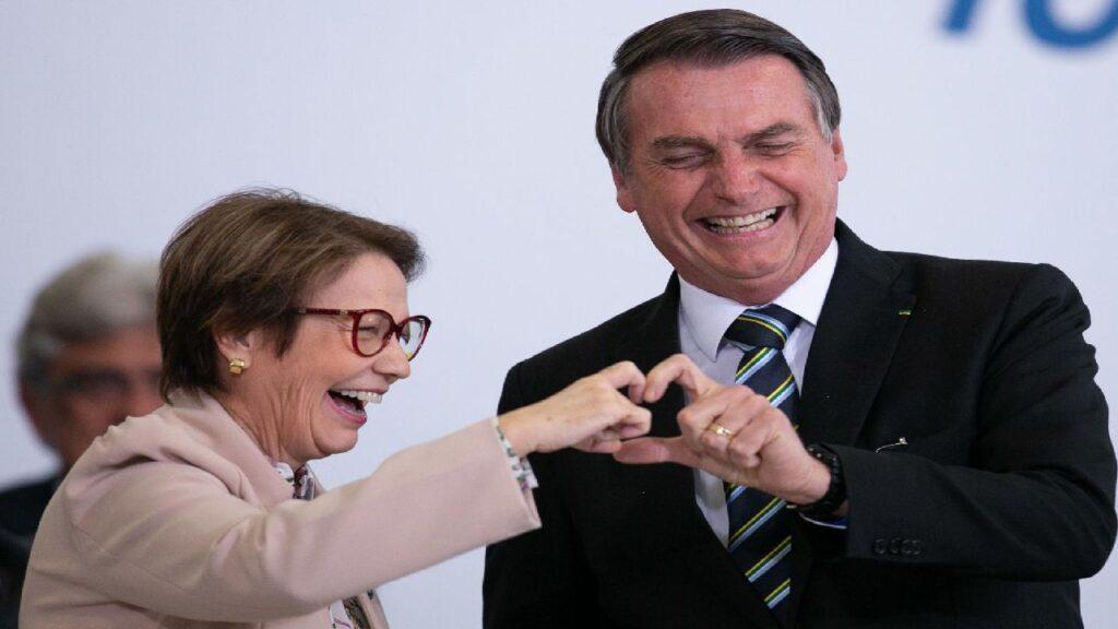 Bolsonaristas querem ministra Tereza Cristina na disputa pela Presidência da Câmara