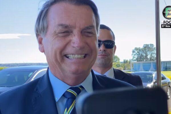 Bolsonaro cumpre agenda em Guaratinguetá, em São Paulo