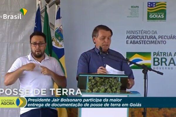 """""""Se o fica em casa e a economia a gente vê depois fosse aplicado no campo, teríamos desabastecimento"""" diz Bolsonaro"""