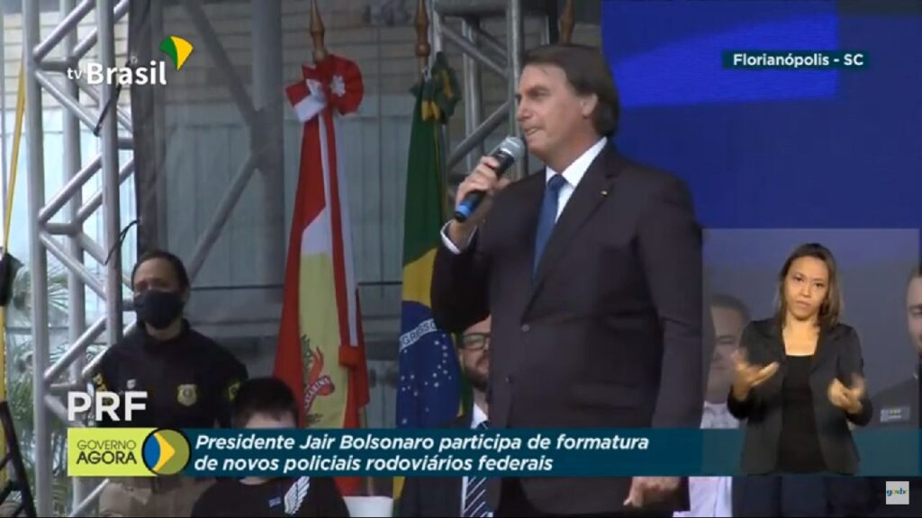 """""""Com garra, determinação e humildade, nós atingiremos os nossos objetivos"""" diz Bolsonaro"""
