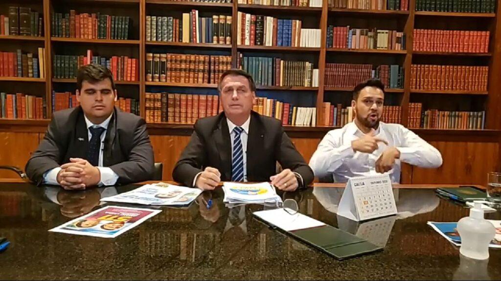 """""""A minha esperança em Belo Horizonte"""" diz Bolsonaro sobre Bruno Engler"""