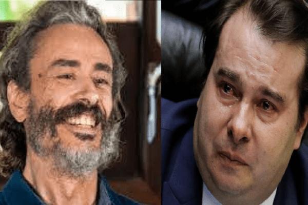 Guilherme Fiuza Detona Discurso de Rodrigo Maia