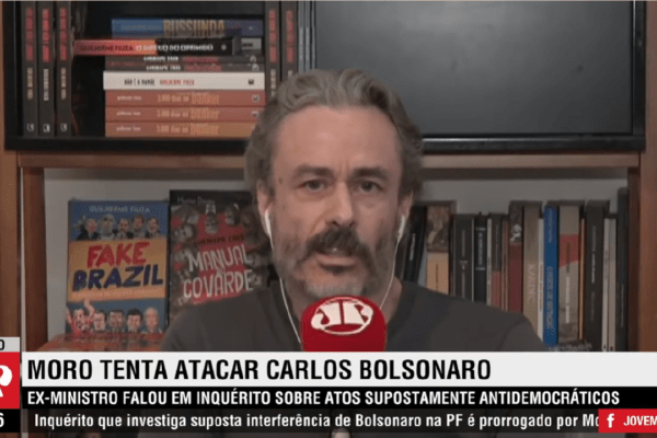 """Guilherme Fiuza detona Sergio Moro por Críticas á Carlos Bolsonaro """"Colocaram um clone no lugar do Sergio Moro!"""""""
