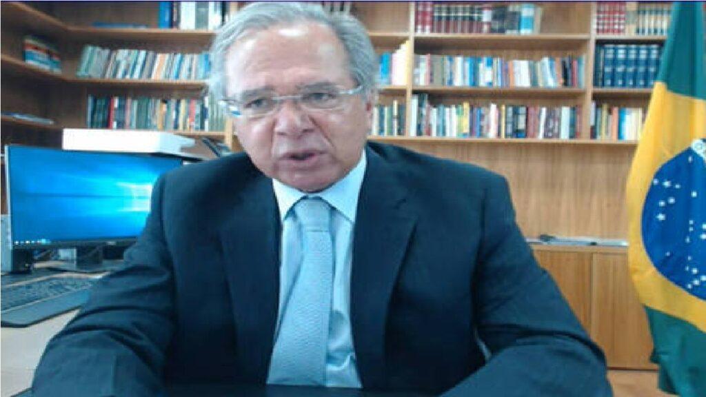 """""""Não queremos furar o teto para gastar mais e ter que aumentar impostos"""" diz Paulo Guedes"""