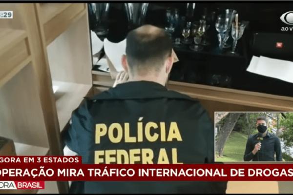 Polícia Federal mira tráficos internacional de drogas