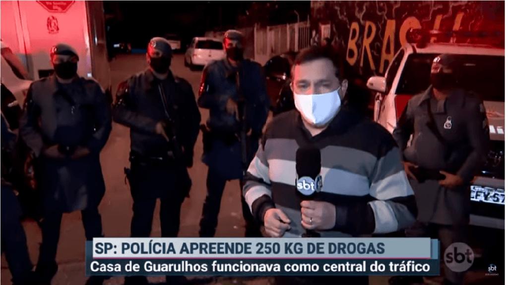 Polícia apreende 250 kg de drogas em São Paulo