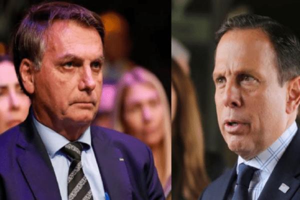 Bolsonaro perde a paciência e detona João Doria: 'Governadorzinho santo da calça apertada'