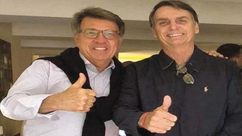Presidente Bolsonaro participa de comemoração de aniversário de Ministro