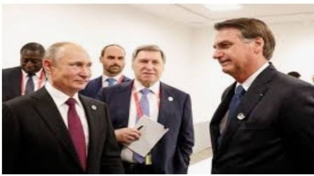 """Putin elogia Bolsonaro e exalta """"coragem e a grande força de vontade"""" do Presidente"""