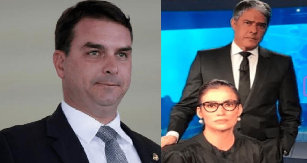 Senador Flavio Bolsonaro aciona Justiça contra apresentadores do JN