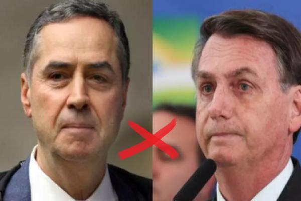 Após declarações de Bolsonaro, Barroso afirma: 'Não existe no Brasil a possibilidade de voto impresso'