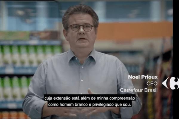 """Presidente do Carrefour em horário nobre da TV """"A Morte de João Alberto Não Pode Passar em Vão!"""""""