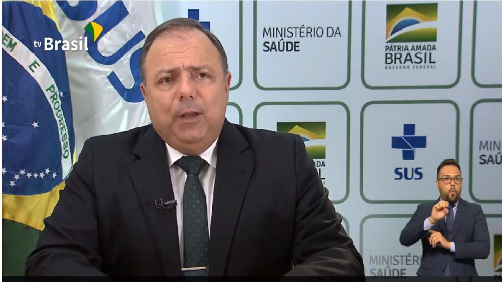 General Pazuello afirma que Brasil tem assegurada 354 milhões de doses de vacinas contra Covid-19