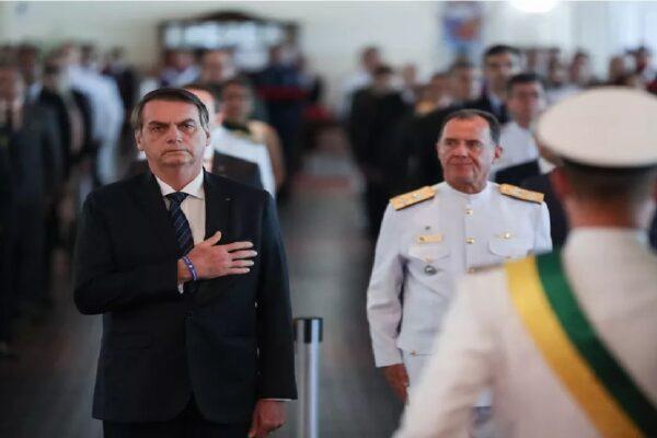 Presidente Bolsonaro participa da cerimônia em comemoração ao Aniversário de 80 anos do Comando da Aeronáutica