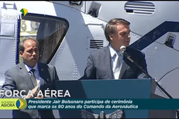 """Presidente Bolsonaro, """"Hoje temos um governo que pensa no Brasil como um todo"""""""