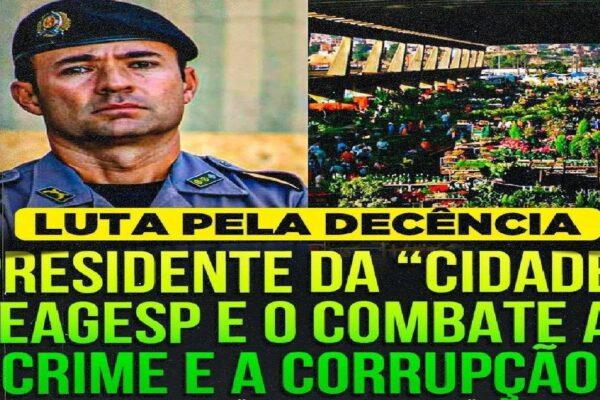 Coronel Mello fala das ações para desmantelar corrupção, critica Doria e conta como tirou Ceagesp do vermelho
