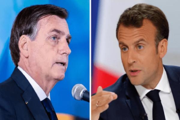 Bolsonaro reage a Macron, presidente da França: 'Falando besteira, não conhece nem seu país. Quer reflorestar a França? Temos mudas para isso'