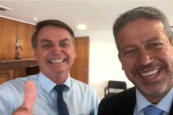 Arthur Lira se reúne com o presidente no Palácio da Alvorada
