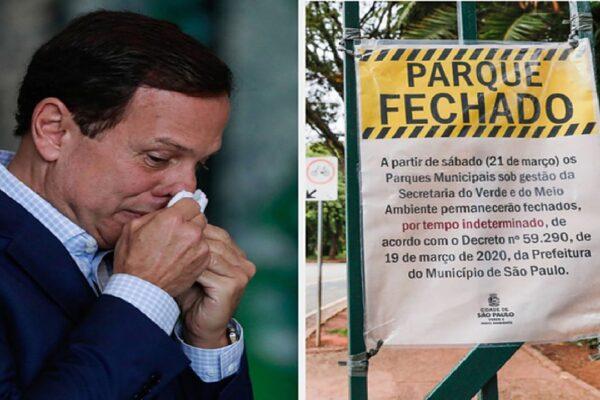 Coronavírus: O Estado de São Paulo continua pior do que o Brasil
