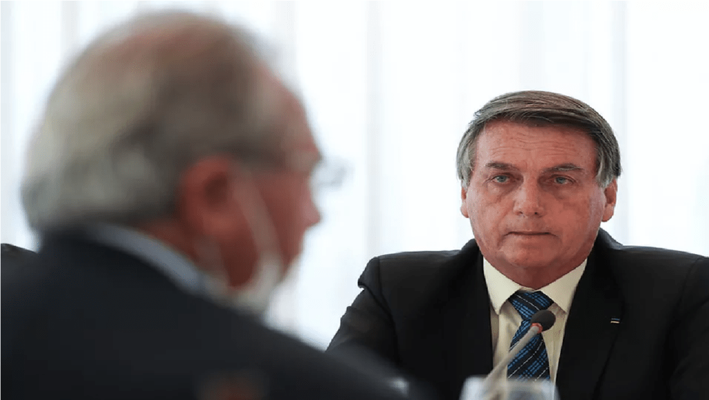 Em reunião, Bolsonaro pede auxílio emergencial a partir de R$ 250