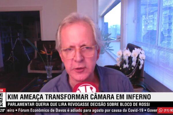 """""""Kim se transformou em uma figura patética, envelheceu precocemente e se tornou velhaco"""", diz Augusto Nunes"""