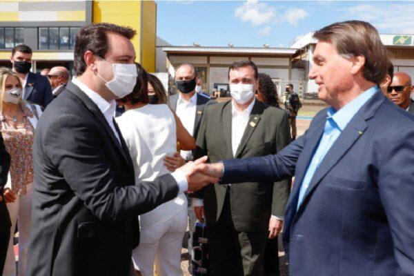 Presidente Bolsonaro participa da Cerimônia de Lançamento da Revitalização do Sistema HVDC de Furnas
